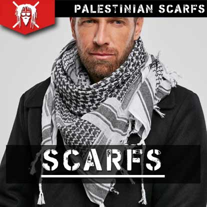 TattooFashion shemag palestinian scarfs