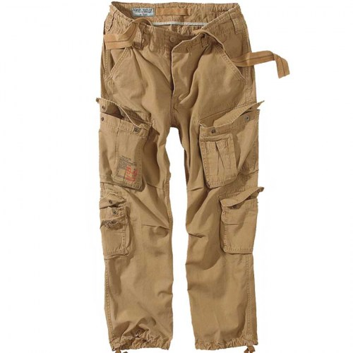 05-3998-74-SURPLUS-AIRBORNE-VINTAGE-BEIGE-CARGO-PANT-TATTOOFASHION-FRONT