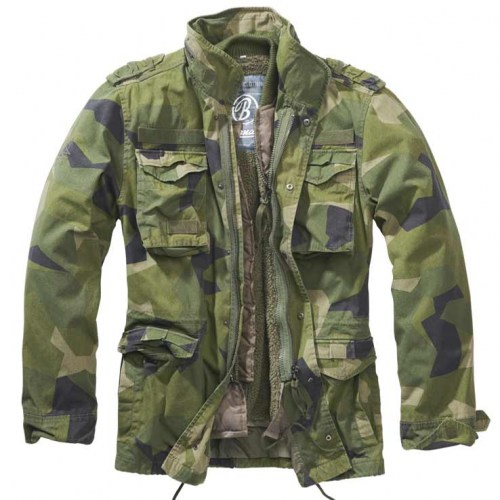 Brandit M65 Giant Jacket Swedish M90 camo