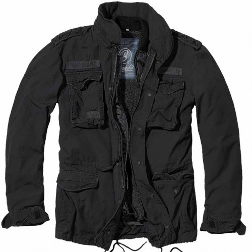 Brandit M65 Giant Jacket Black