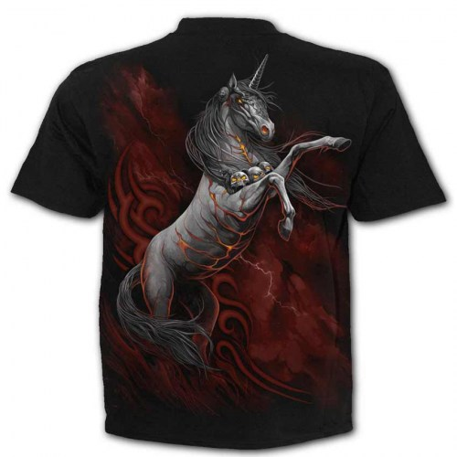 TR417600 Tshirt Infernal Unicorn SpiralDirect